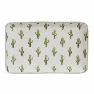assiette cactus jade
