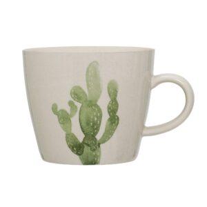 tasse avec anse cactus jade