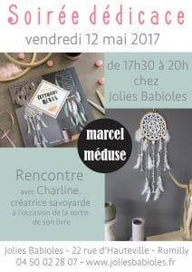 SOIREE DEDICACE EVENEMENT MARCEL MEDUSE ATTRAPE REVE