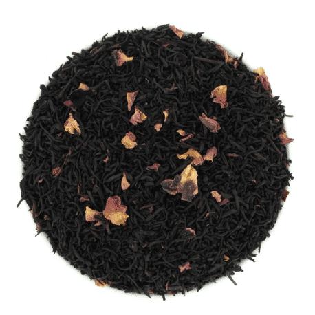 Thé noir Rose Congou et pétales
