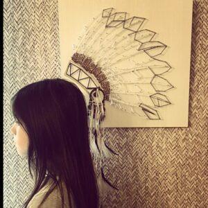 louve string art atelier cactus
