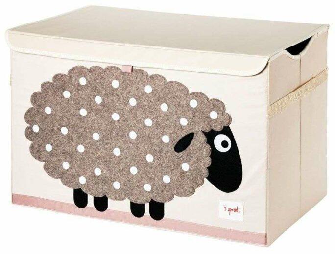 Coffre à jouets Mouton