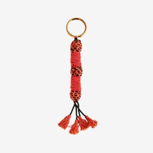 Porte-clés Grigri orange madam stoltz