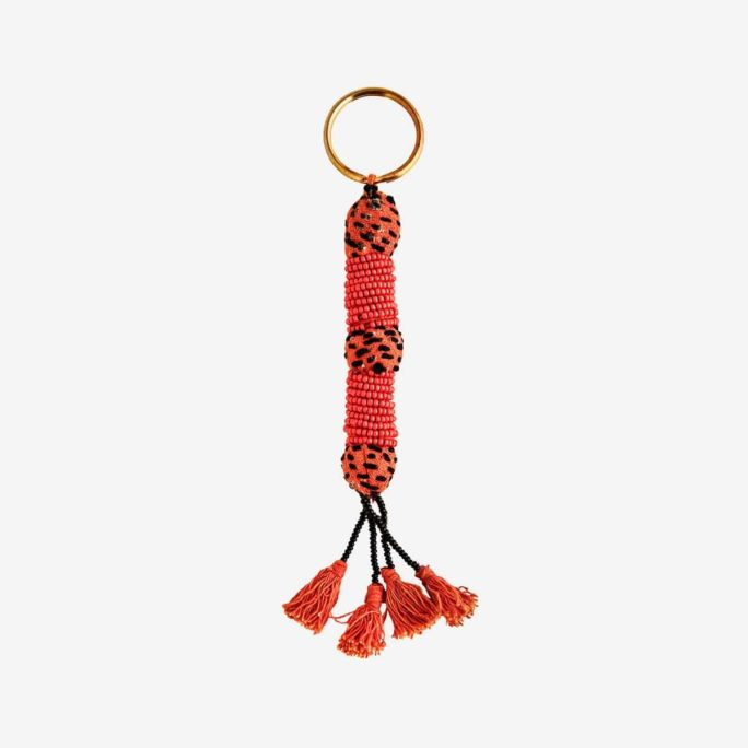 Porte-clés Grigri orange