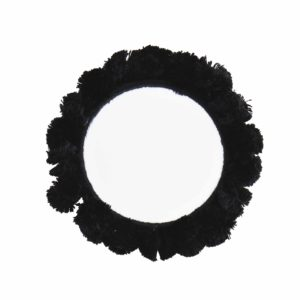 Miroir de poche noir MADAM STOLTZ