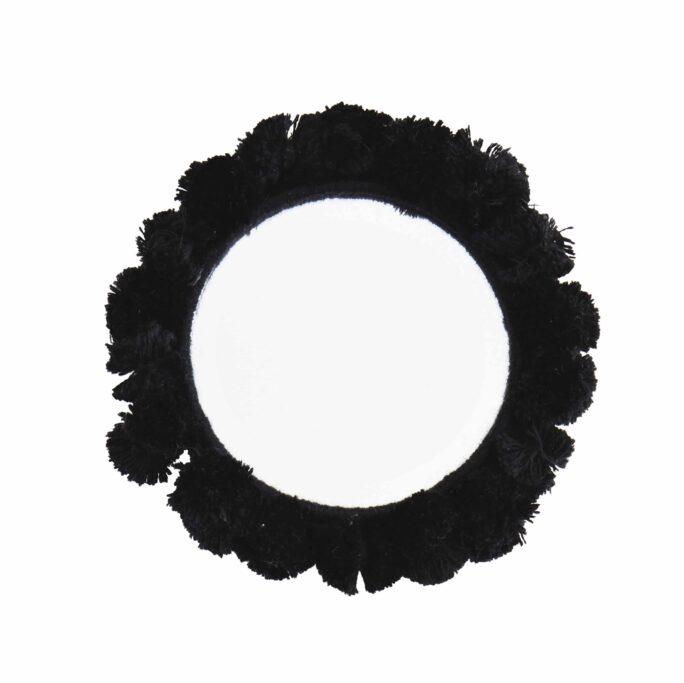 Miroir de poche noir
