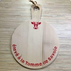 Planche ronde ELEVE A LA TOMME DE SAVOIE rouge