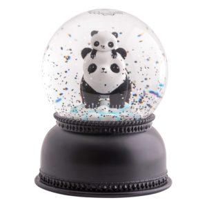 Boule à neige lumineuse Panda