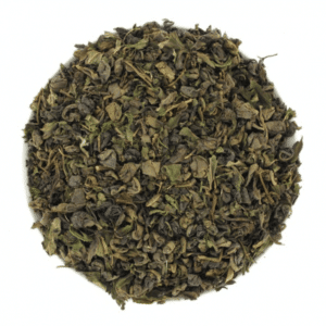 thé vert les hommes bleus