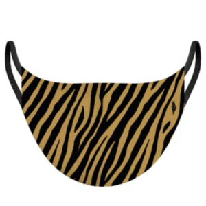 MASQUE ADULTE ANIMAL LOVE ZEBRE CARAMEL