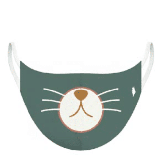 MASQUE 7/11 ans CHAT TURQUOISE