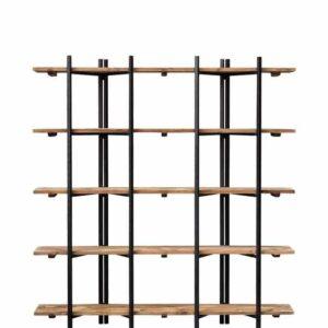 Etagère métal et bois 5 niveaux Easy