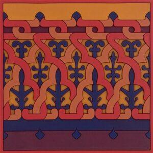 Dessous de plat Vagabonde Crochet Velours