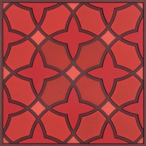 Dessous de plat Najma Rouge