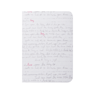 Carnet de note WRITING