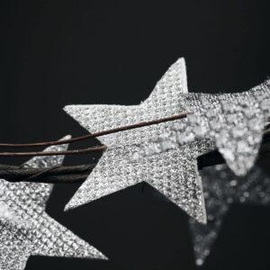 Couronne Star argentée