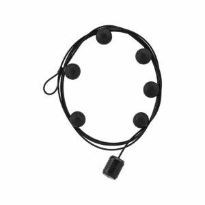 Câble photos aimanté noir