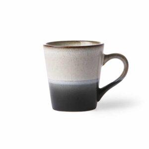 Tasse à café collection 70'S coloris ROCK