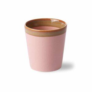 Mug collection 70'S coloris PINK