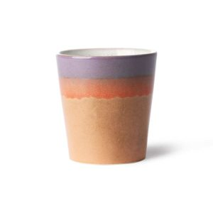 Mug collection 70'S coloris SUNSET