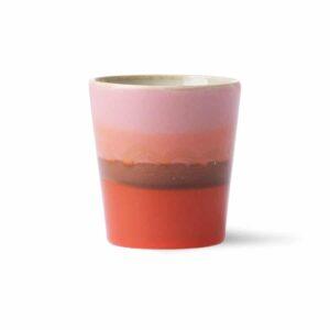 Mug collection 70'S coloris MARS