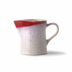 Pot à lait collection 70'S coloris FROST