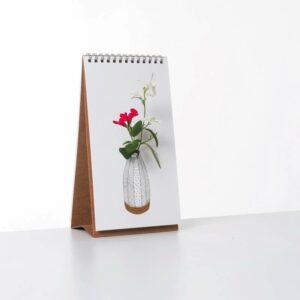 Vase bloc-note FLIP VASE