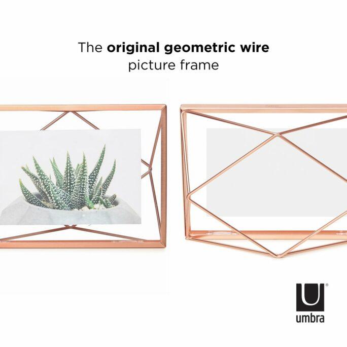 Cadre photo 10×15 PRISMA Cuivré mat