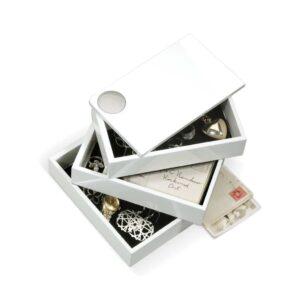 Boite à bijoux SPINDLE Blanc