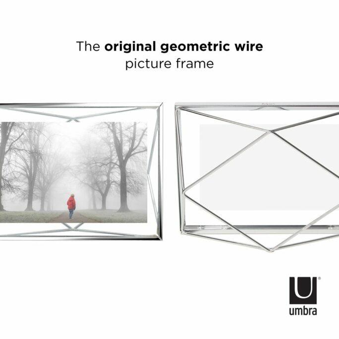 Cadre photo 10×15 PRISMA Chromé