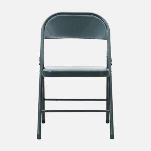 """Chaise """"Fold It"""" métal couleur grès"""