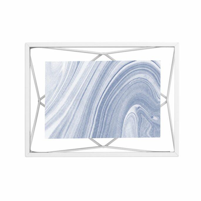 Cadre photo 10×15 PRISMA Blanc