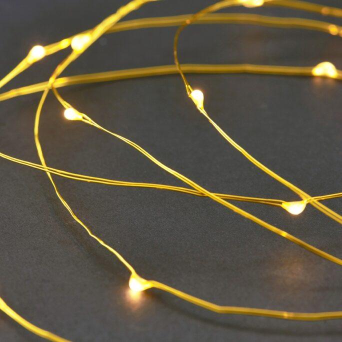 Guirlande lumineuse Brass