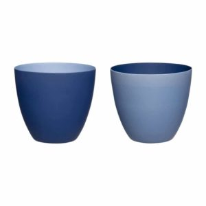 Set de 2 photophores bleus