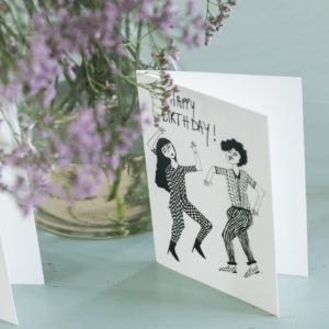 Carte d'anniversaire Dancing Couple