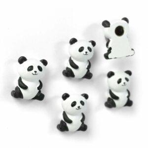 Boîte de 5 aimants PANDA