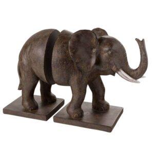 Serre-livres éléphant