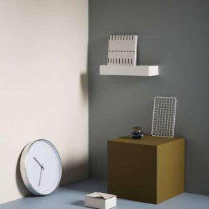 Horloge blanc / argent