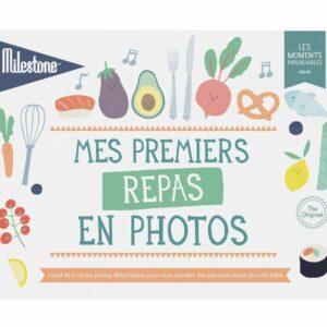 Livret de cartes photos «Mes premiers repas»