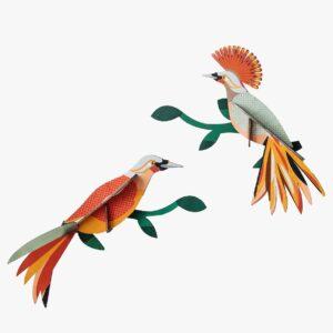 Oiseaux du paradis Décor mural Obi