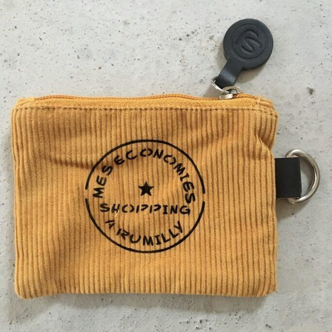 Porte-monnaie SHOPPING A RUMILLY jaune
