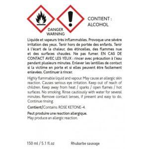 Recharge diffuseur de parfum 150ml rhubarbe sauvage