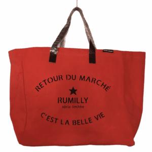Sac Retour de Marché Rumilly coloris orange