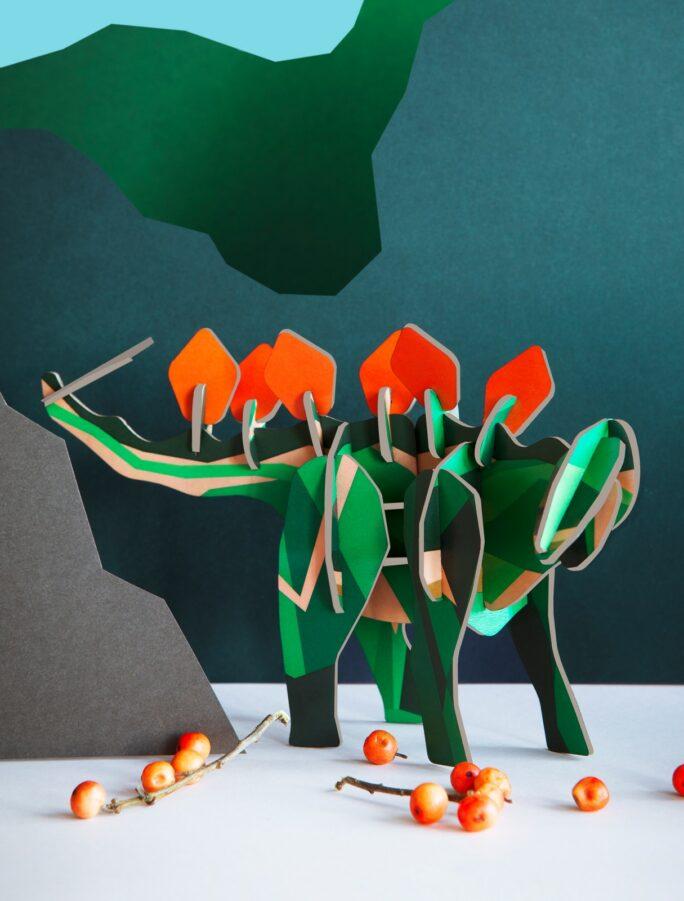 Totem Le Stégosaure Magique