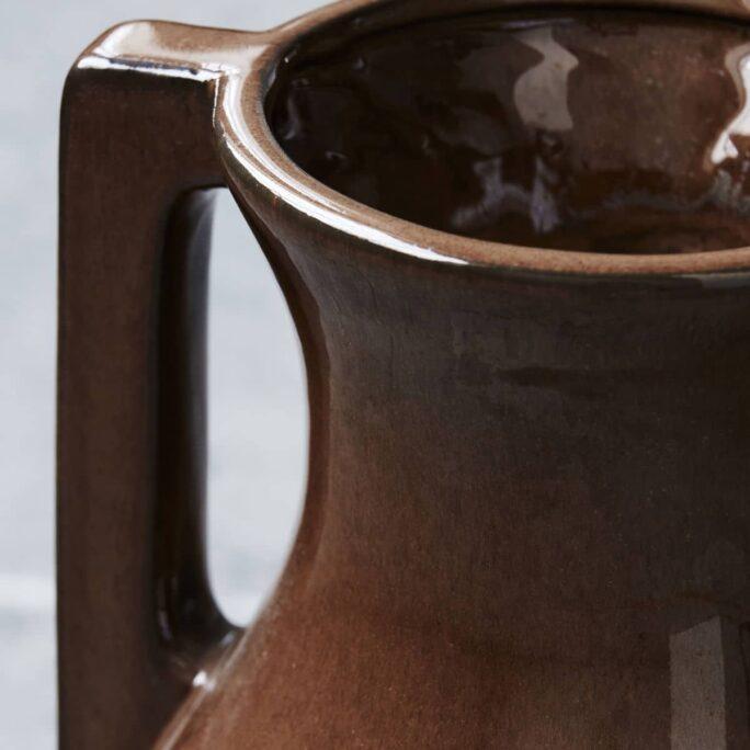 Vase, Mississipi, Brown