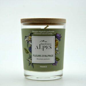 Bougie parfumée Fleurs d'Alpage