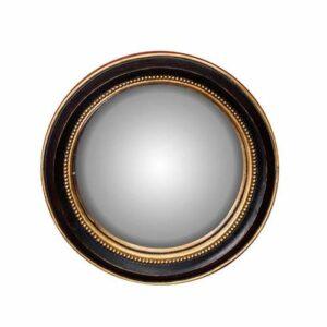 Petit miroir convexe Bord or