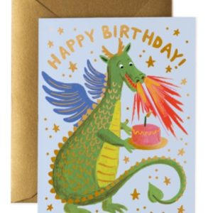 Carte Anniversaire DRAGON
