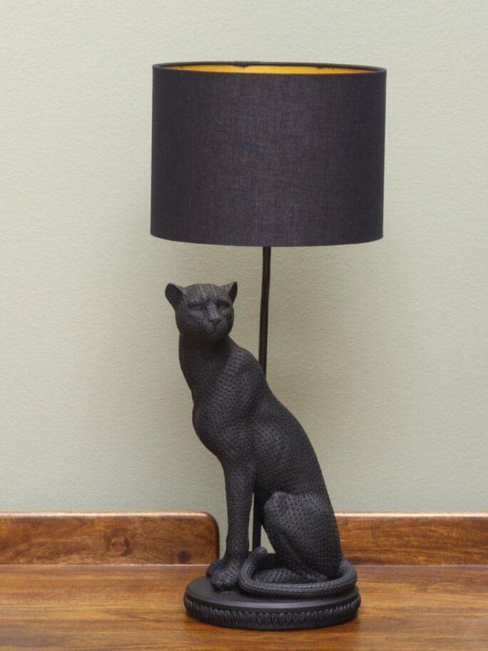 Lampe à poser Panthère Noire Baghera