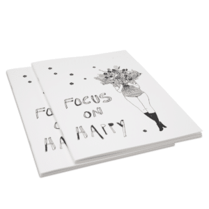 Carnet de notes Focus on Happy & Flower Girl